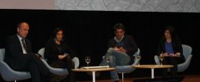 MIguel Mora en el coloquio con otros corresponsales