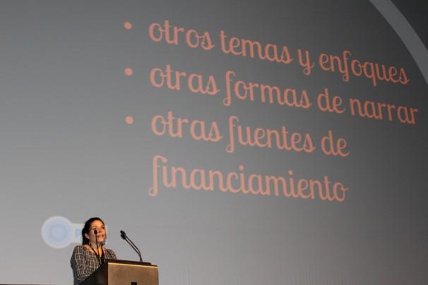 Un momento de la mesa Nuevos medios en Latinoamérica