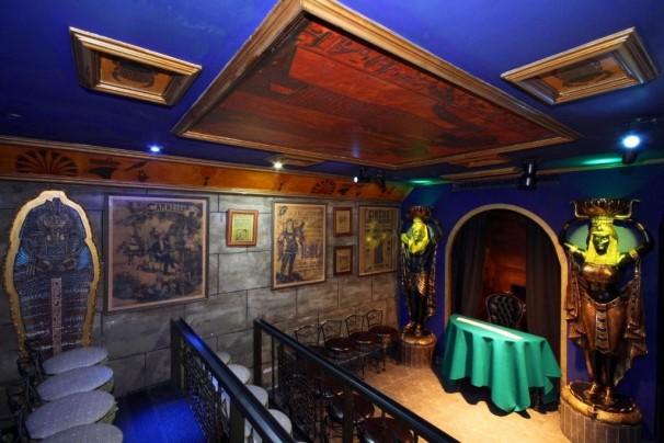 Una de las salas donde practicar magia en la sala Houdini