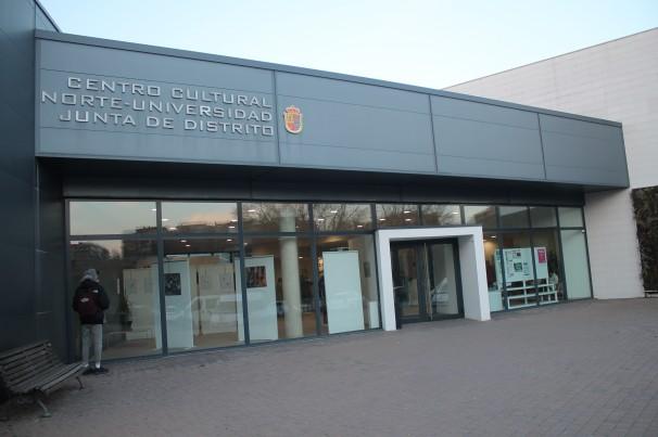 Centro Sociocultural Norte-Universidad de Móstoles el día de la inauguración. Foto: C. Falcón