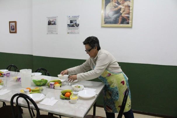 Maite Galdón, responsable de La Casita, ha dedicado media vida a ayudar a los más desfavorecidos