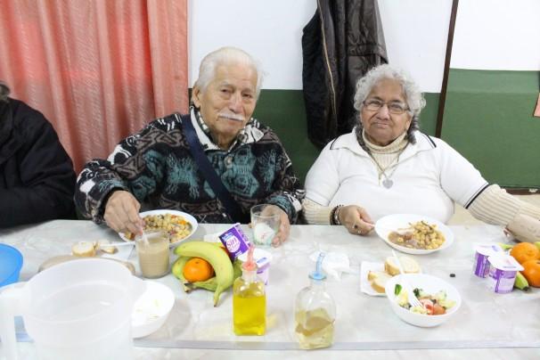 Aurora Lucrecia Lema y su marido sobreviven con una pensión ínfima