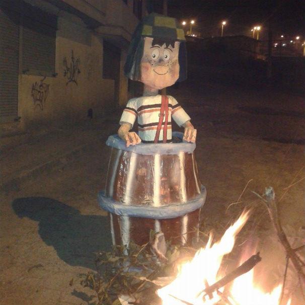 Tributo a El Chavo, el principal personaje del fallecido Roberto Gómez Bolaños. Foto: C.Q.C.