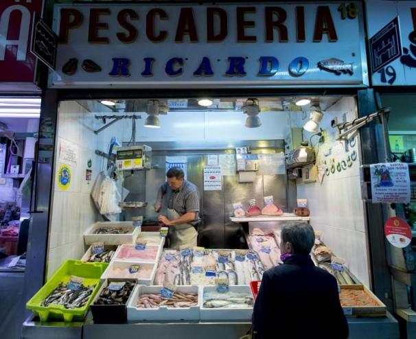 archdc. Madrid, 11 de mayo de 2017. Mercado de Tirso de Molina. Foto: IGNACIO GIL.