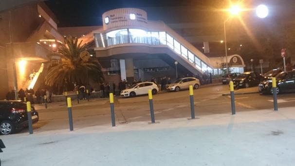 Parking de la discoteca Lab. Foto: Mario López