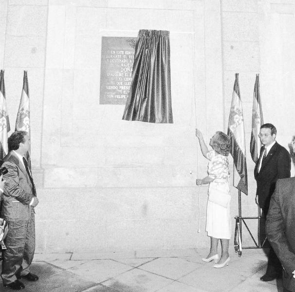 Inauguración del Museo Reina Sofía en mayo de 1986. Foto: ABC