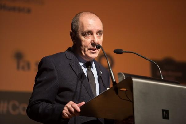 José Luis Trasobares durante la XIX edición del Congreso. Foto: Javier Broto, Congreso de Periodismo Digital