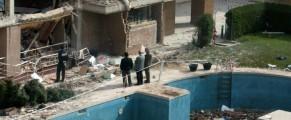 Cómo quedó el piso de Leganés en el que se inmolaron los terroristas responsables de los atentados del 11 de marzo de 2004. Foto: Chema Barroso