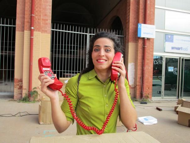 Mónica Suárez, una de las integrantes de la compañía Faltan7