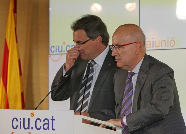 Los líderes de Convergencia i Unió han sufrido un serio correctivo en las urnas