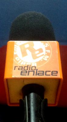 Micrófono estudio Radio Enlace/ Foto: Y.G.