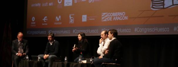 Los ponentes en un momento del debate. Foto: G. López