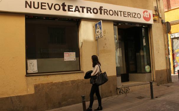 El Nuevo Teatro Fronterizo tiene su sede en la calle de la Cabeza Foto: N.M.