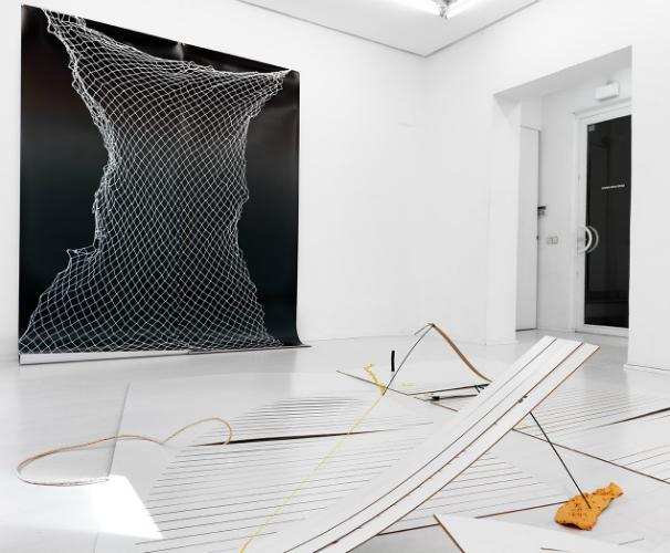 Obra de la artista Tatiana Echeverri- Galería Casado Santapau