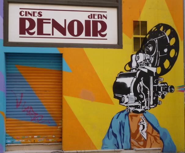 Cines Renoir. Foto: L.M.C.