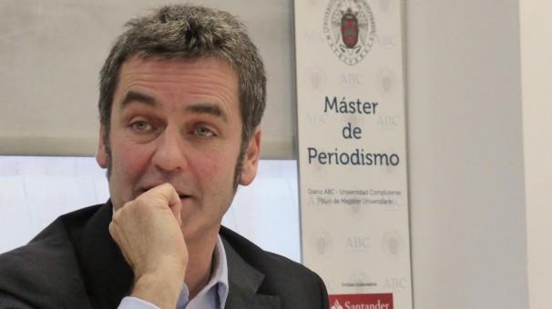 El periodista de la revista The Economist y el periódico The Guardian visita el Máster ABC-Complutense