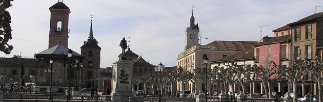 Panoramica de la Plaza Cervantes