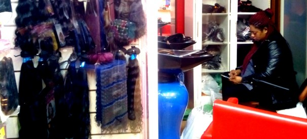 Peluquería de Mariem en la calle Mesón de Paredes, 80- Raquel F-Novoa