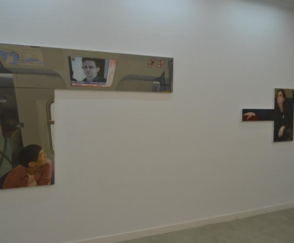 Miguel Aguirre será una de las grandes apuestas de la galería Pilar Serra en ARCOmadrid. Foto: R. M. F.