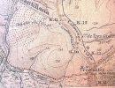 Casa de Tres Cantos. Mapa topográfico (Fuente: IGN,1929 )