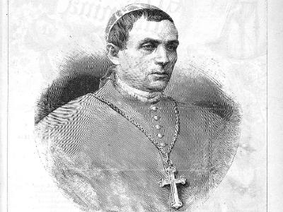 El primer obispo de Madrid-Alcalá. Foto: Almanaque de La Ilustración.