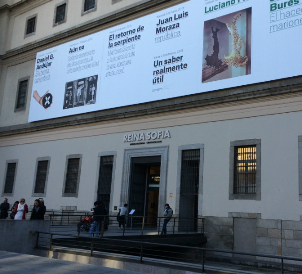 Museo Reina Sofía en Madrid. Foto: R. M. F.
