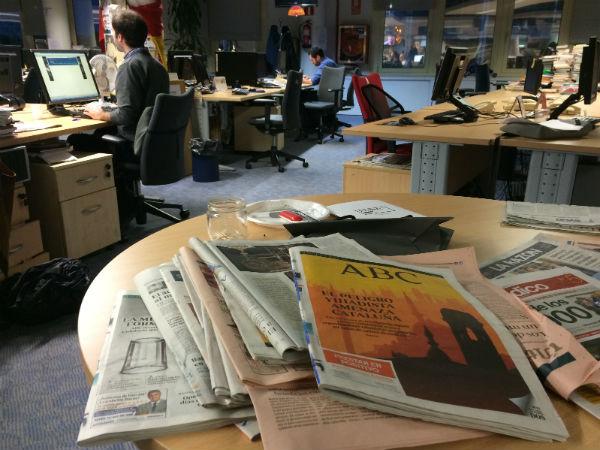 Redacción del diario ABC