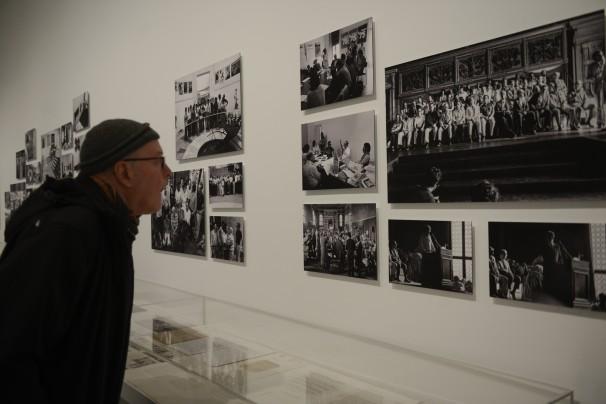 Exposición sobre la Transición en el Museo Reina Sofía. Foto: Maya Balanya.