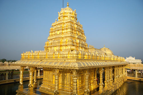 Templo de Tirumala en La India