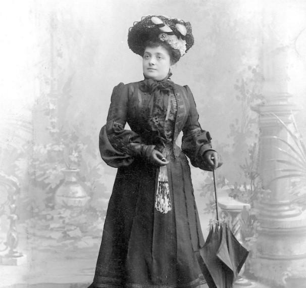 La imagen de Vicenta Verdier tomada en 1907