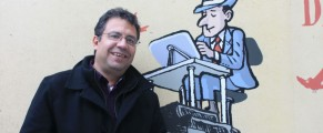 Alberto Salcedo en el Congreso de Periodismo de Huesca. Fto:Cristina S.