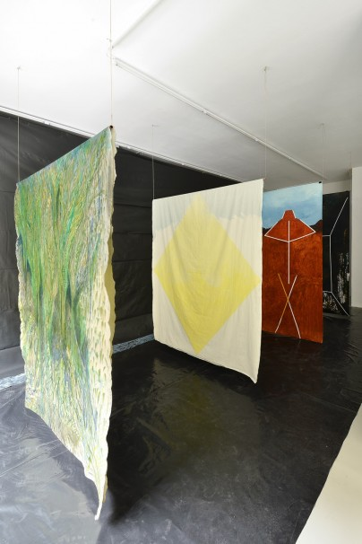 Obra de André Sousa en la galería Bacelos. Foto: Bacelos
