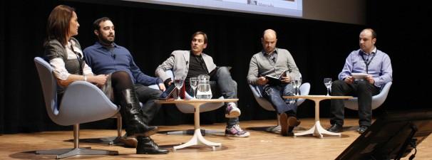 Mesa 'Periodistas: de asalariados a mini-empresarios'. Por Carmen Castellón