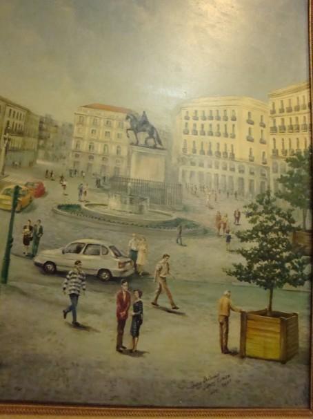 «Puerta del Sol» Juan Antonio López Fariza, 2001