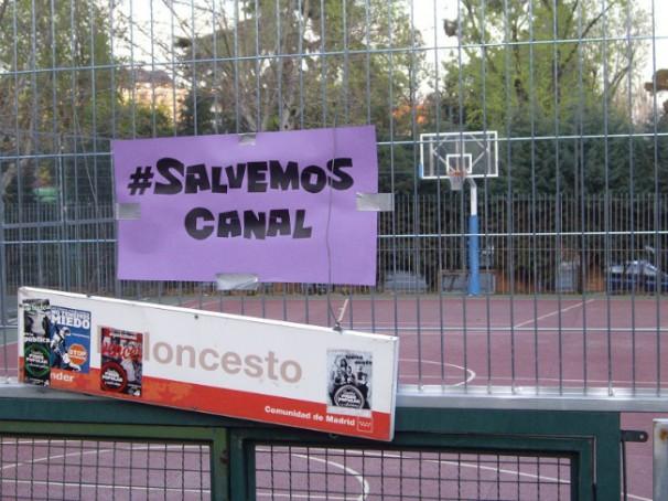 Canal sin baloncesto. Foto: D.V.