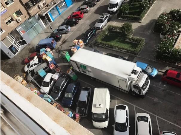 Situación diaria a la que se enfrentan los vecinos de Bravo Murillo 279. Foto: BM279