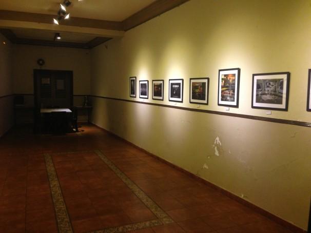 Salón del Nuevo Café Barbieri donde antiguamente se hacían las tertulias.   Foto: J. G. S