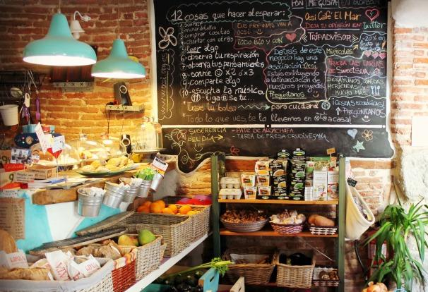 Interior del Café el Mar. Osci. Foto: L.A.