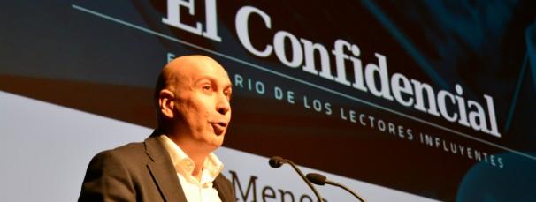 Nacho Cardero, director de El Confidencial - FOTO: Daniel Caballero