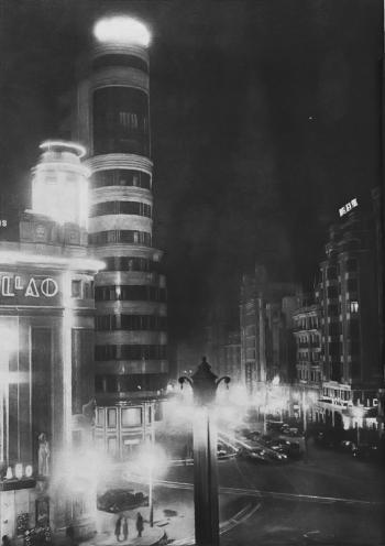 Cine Callao y edificio Carrion
