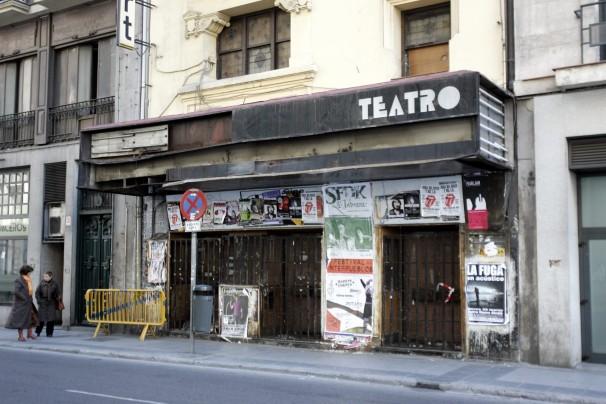 La fachada del cine Bogart de Madrid. Foto: Chema Barroso