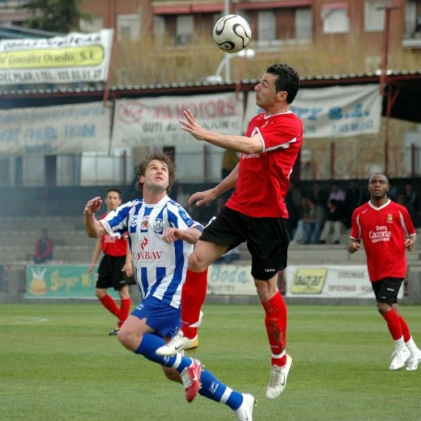 El mayor éxito de Cobeña fue jugar en Segunda B