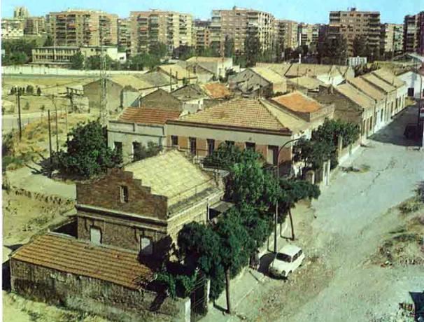 Restos de la colonia Mahou en 1979