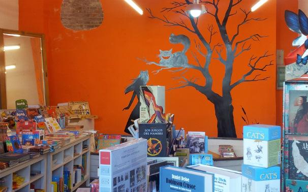 Interior de la tienda. Foto: J.S.M