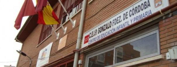 Fachada del CEIP Gonzalo Fernández de Córdoba