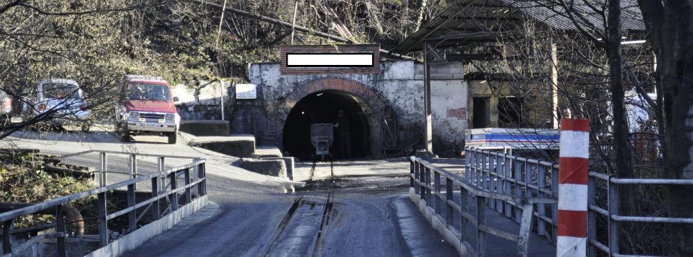 Entrada al interior de la mina. Fotos: Daniel Rodríguez