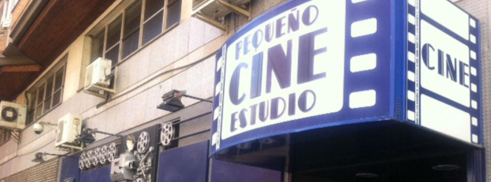La fachada del Cine Estudio