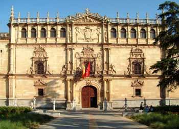 Fachada Universidad Cisneariana. Foto: Ayto. de Alcalá de Henares