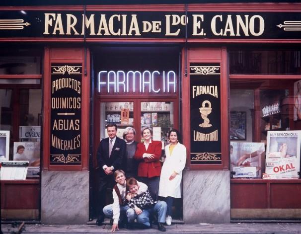 Vita de la farmacia que recrearon en la serie de Antena 3. Foto: ABC