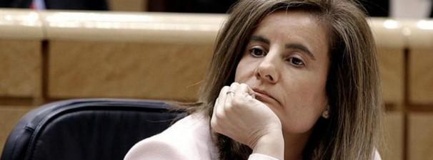 La Ministra de Empleo y Seguridad Social. Foto: EFE
